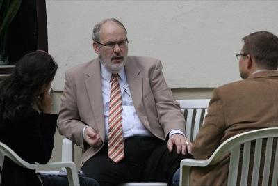 prof. Thomas Hilgers udziela wywiadu