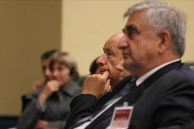 prof. Bogdan Chazan i prof. Jan Oleszczuk