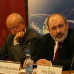 Prof. Bogdan Chazan i dr Maciej Barczentewicz