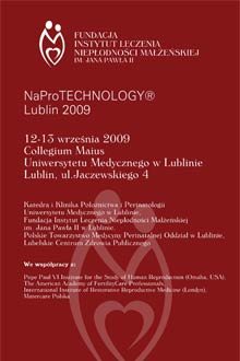 Conference: NaProTechnology - Lublin 2009